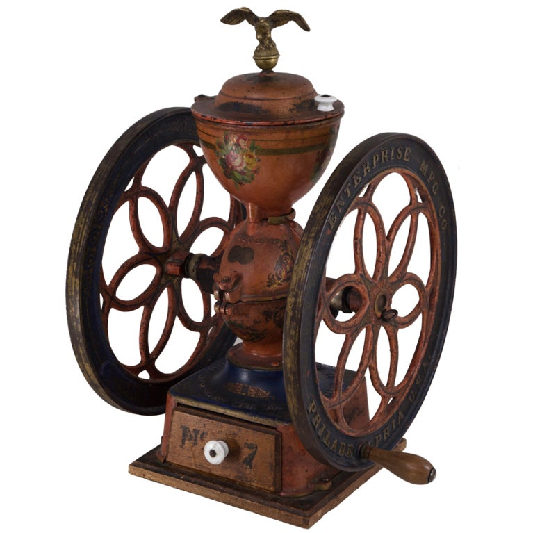 Circa 1873 American Coffee Grinder at 1stdibs