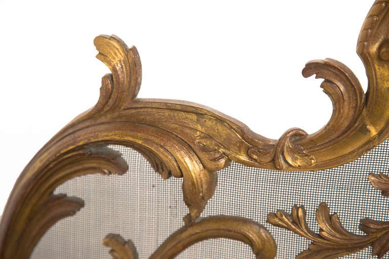 Bronze Dore French Fire Screen At 1stdibs