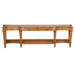 Large-Scale Console Table