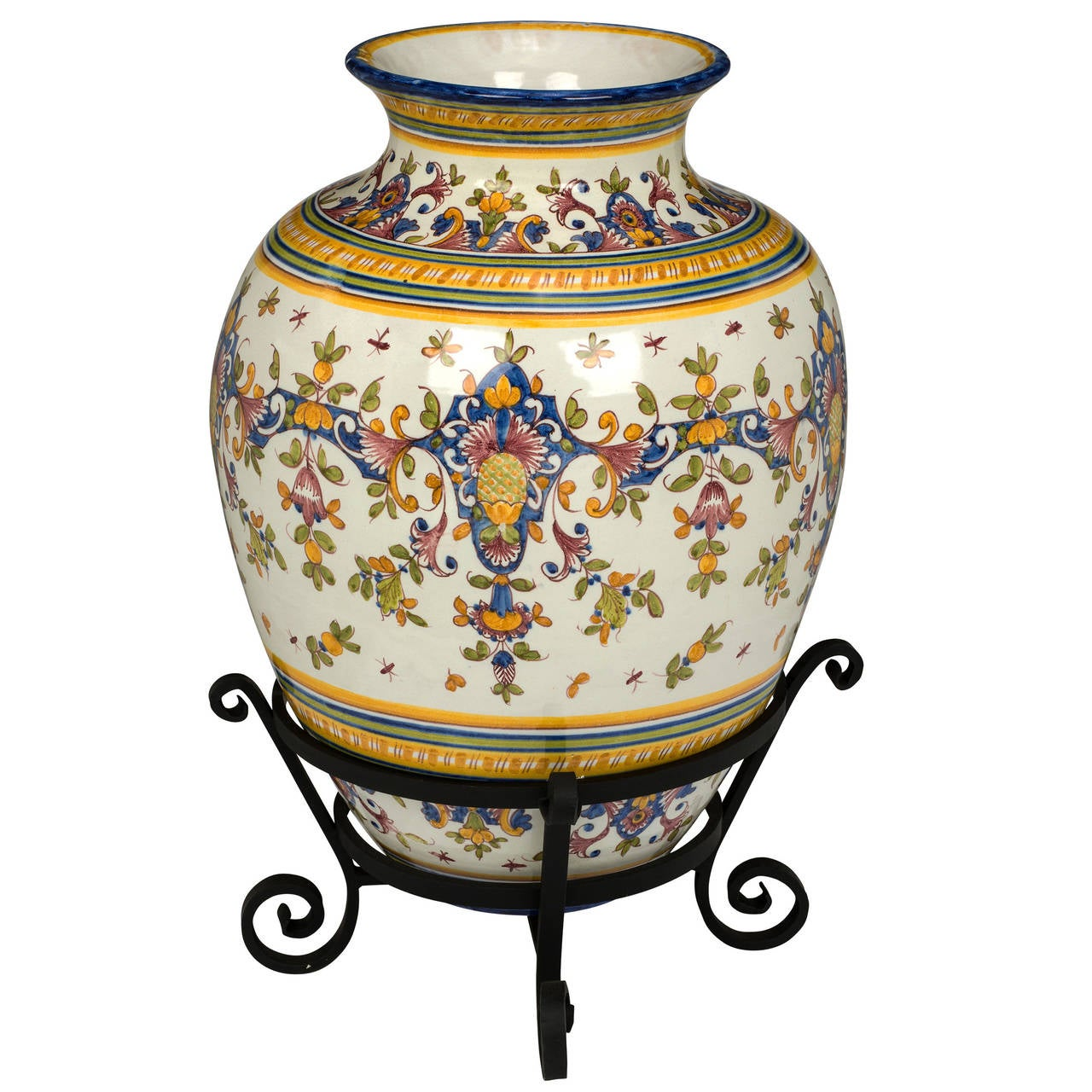 Large 29 tall portuguese urn for sale at 1stdibs - Large decorative vases and urns ...