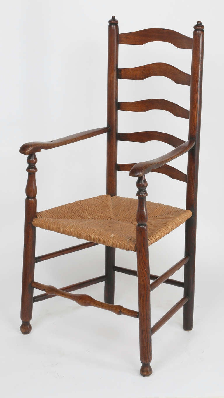 Antique ladder back chairs with rush seats - Autumn Lane Ladder Back Dining Chairs Setladder Back Dining Chairs