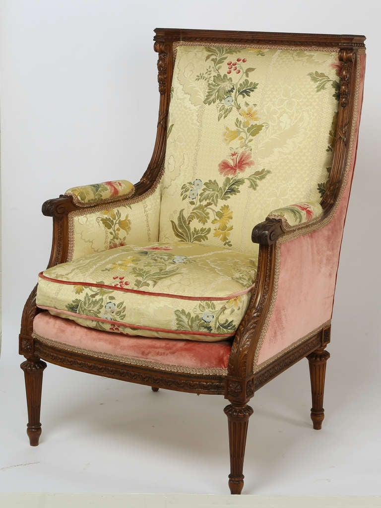 1930s French Arm Chair And Ottoman For Sale At 1stdibs