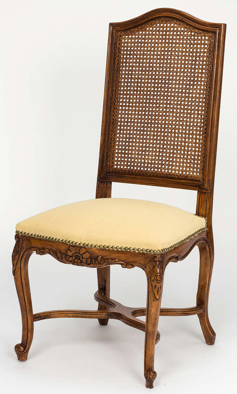 Id F 1249332 on dining room chairs upholstered with oak legs