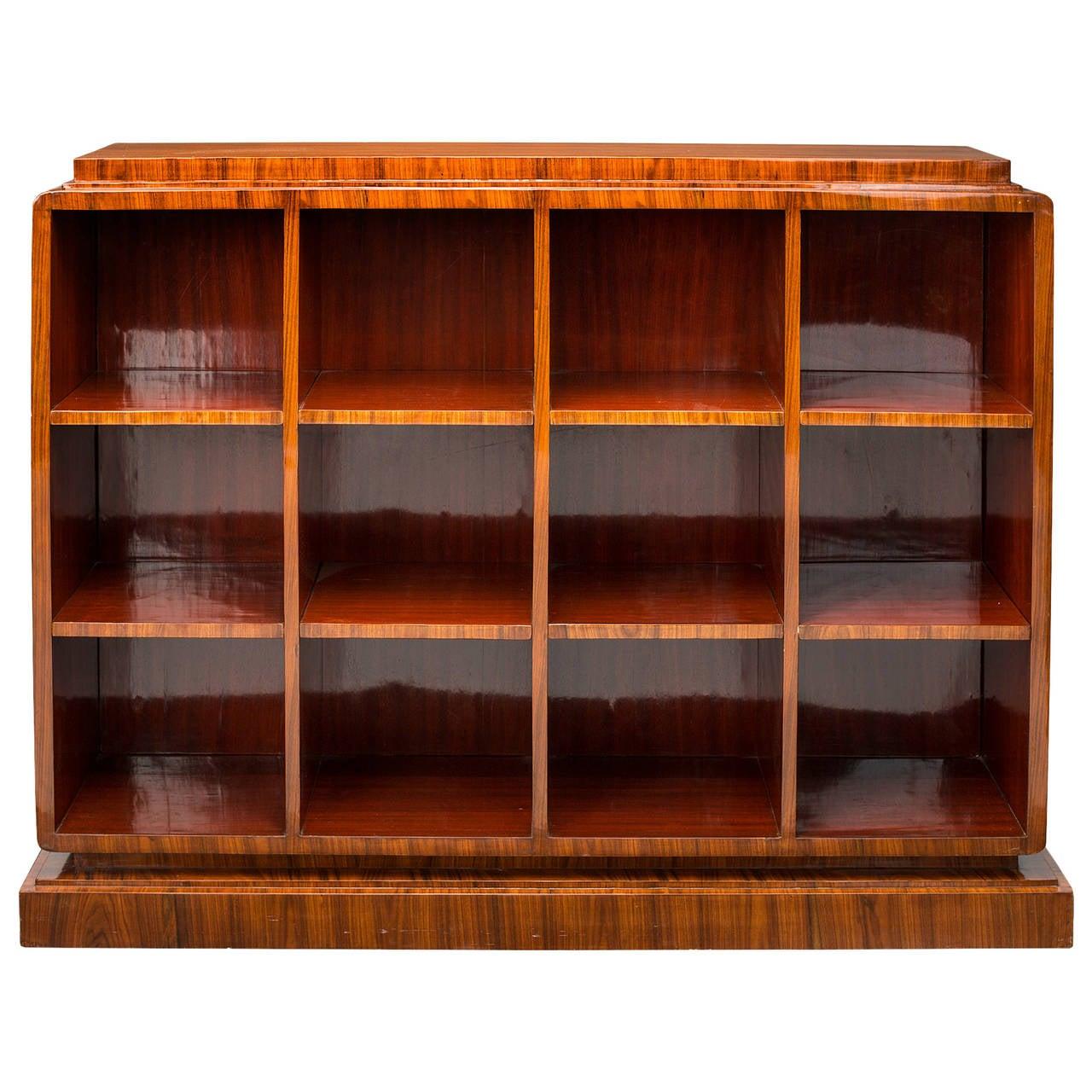 Art Deco Bookcase In Manner Of Ruhlmann 1