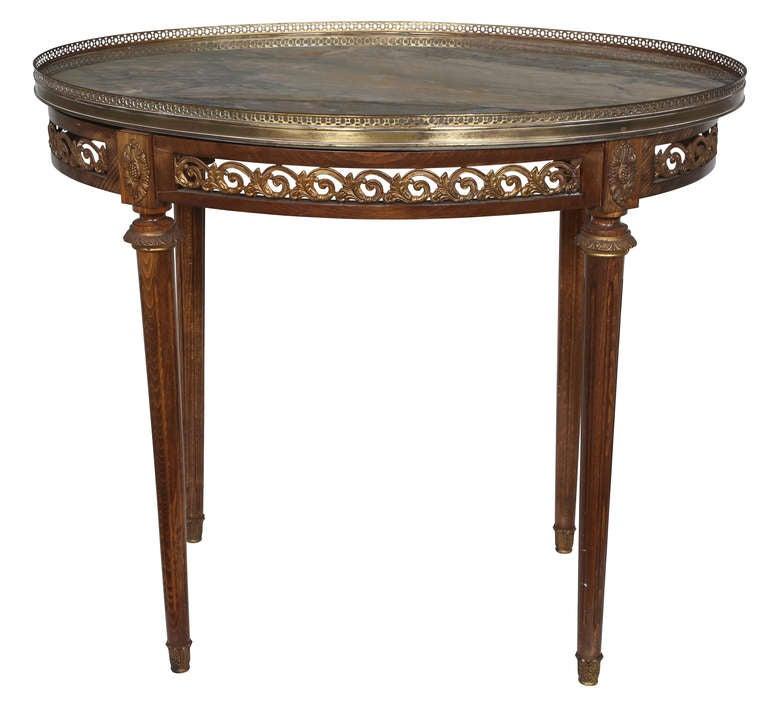 leila marbletop side table