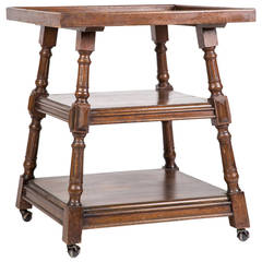 Three-Tiered Square Table