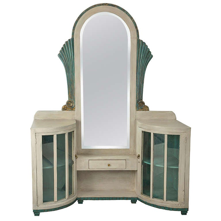 Fabulous Art Deco Vanity Dressing Table At 1stdibs