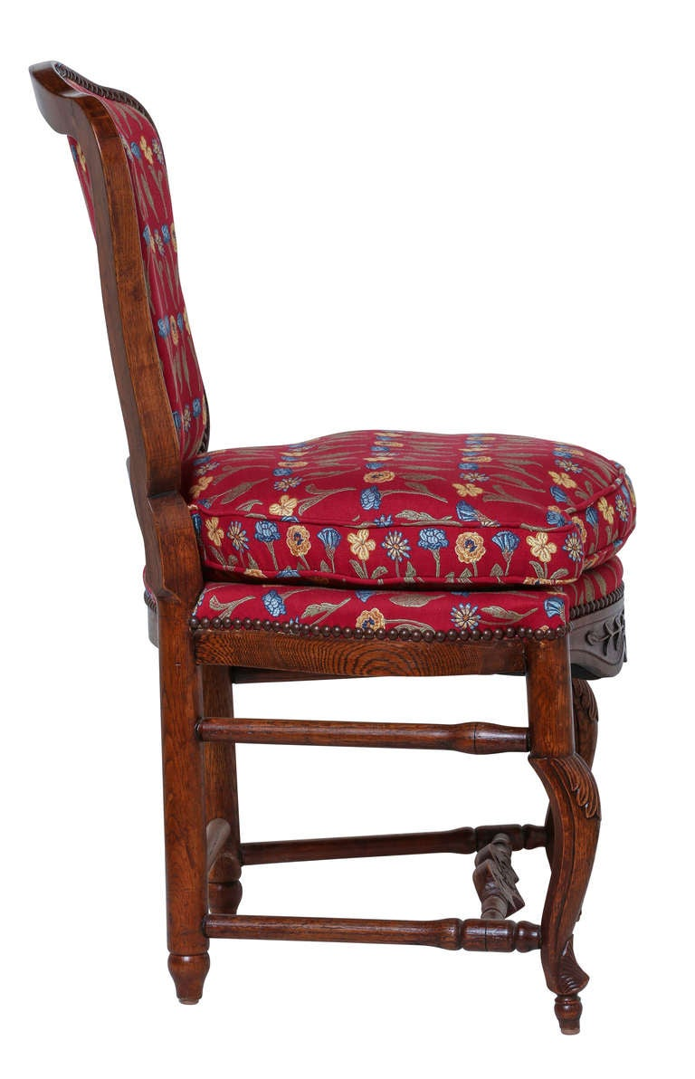Pair of Country French Chairs at 1stdibs