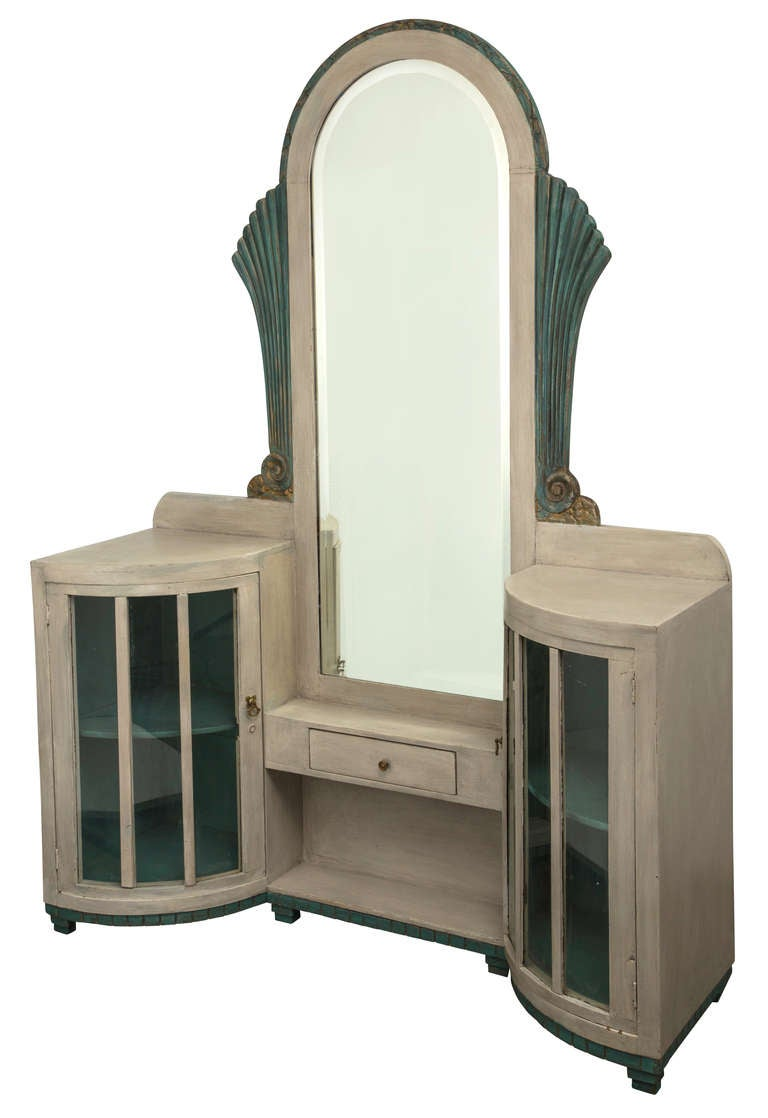 fabulous art deco vanity dressing table at 1stdibs. Black Bedroom Furniture Sets. Home Design Ideas