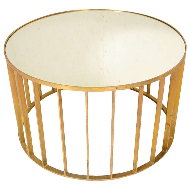 Mid Century Modern Small Round Coffee Table At 1stdibs: 1048788_l.jpg