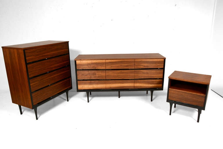 mid century modern bedroom set at 1stdibs