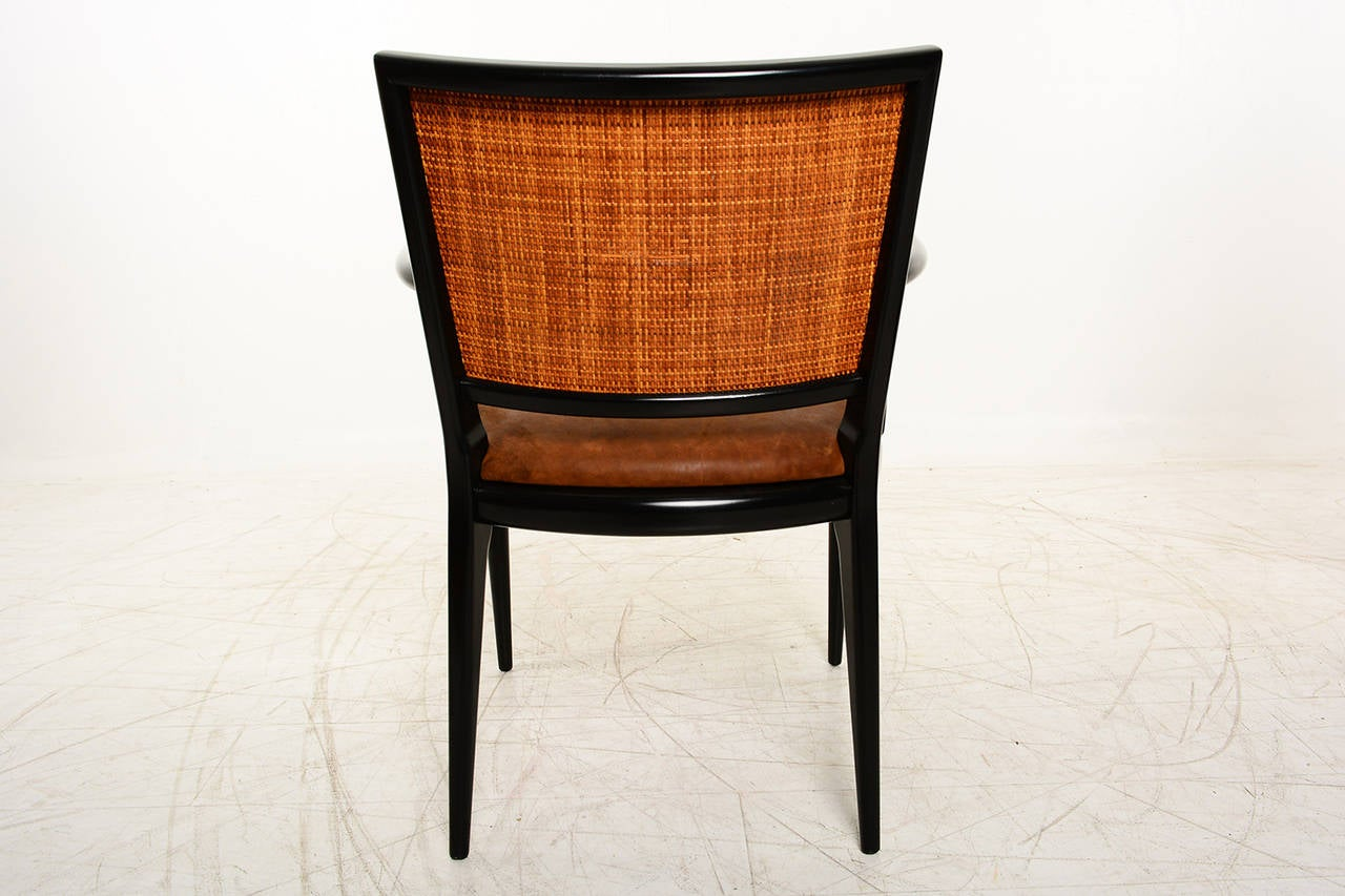 Mid Century Modern Brower Furniture Side Armchair, 1956 At 1stdibs