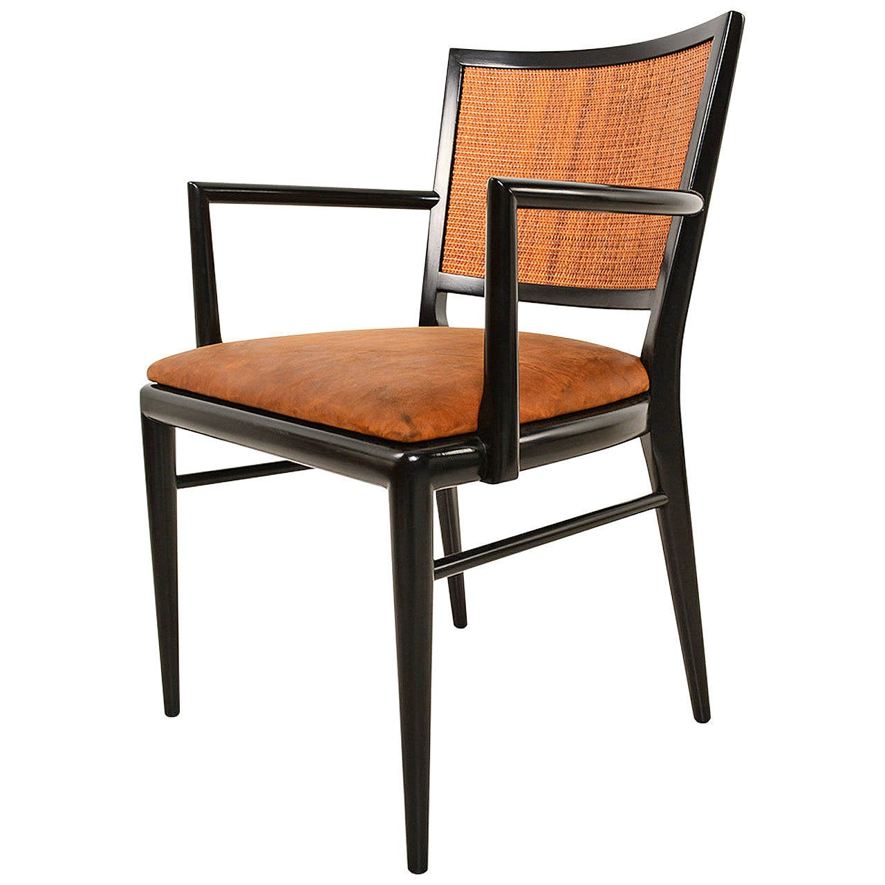 Mid-Century Modern Brower Furniture Side Armchair, 1956 at ...