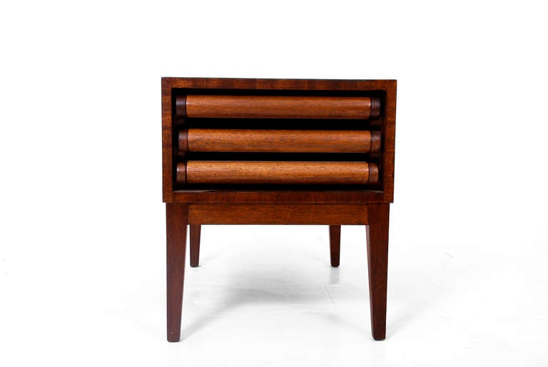 John Keal For Brown Saltman Side Table With Serving Tables At 1stdibs