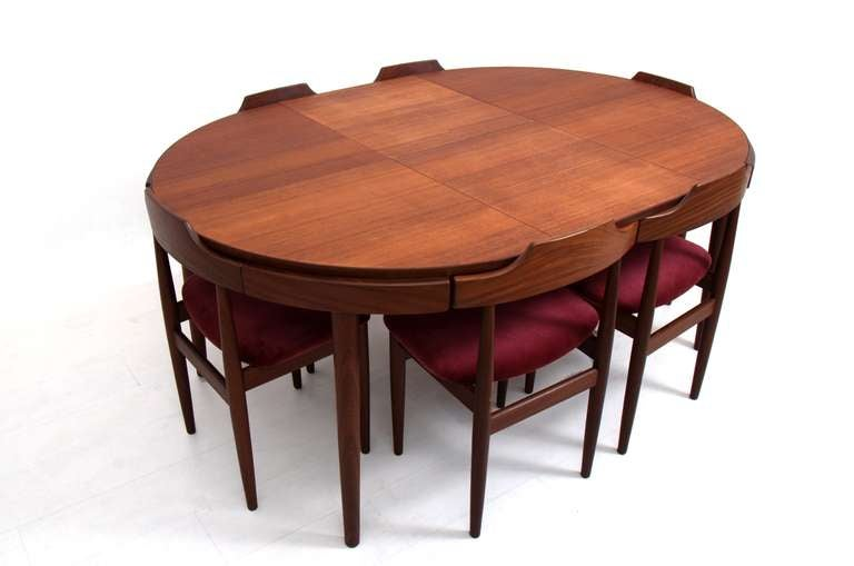 Hans Olsen Dining Set For Frem R 248 Jle At 1stdibs