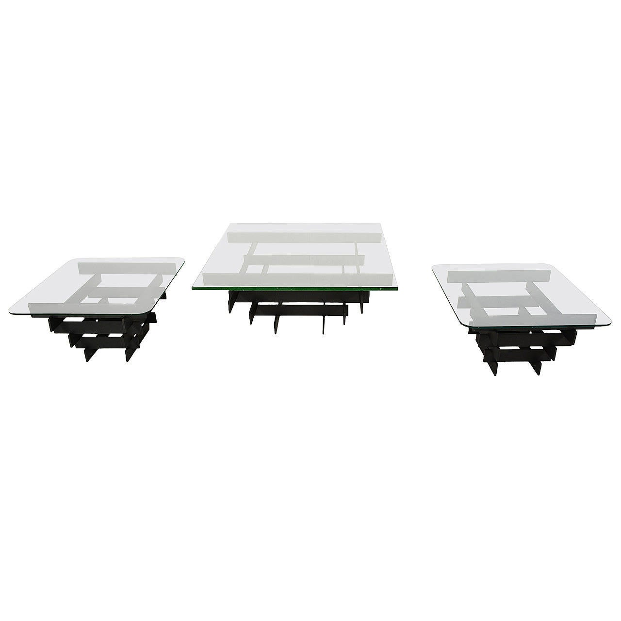 Paul Mayen Coffee Table and Side Tables