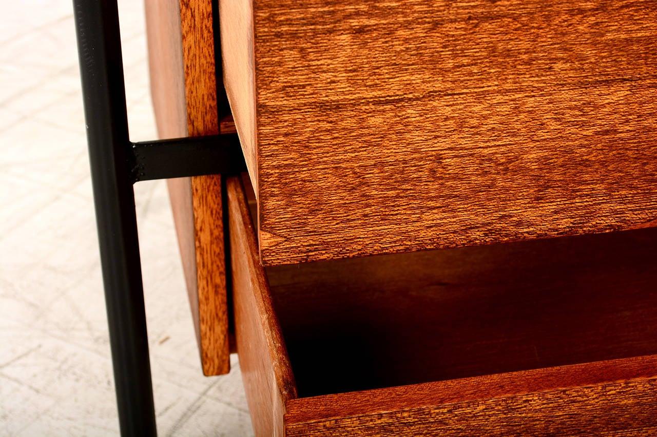 this mid century modern mahogany dresser vista of california is no