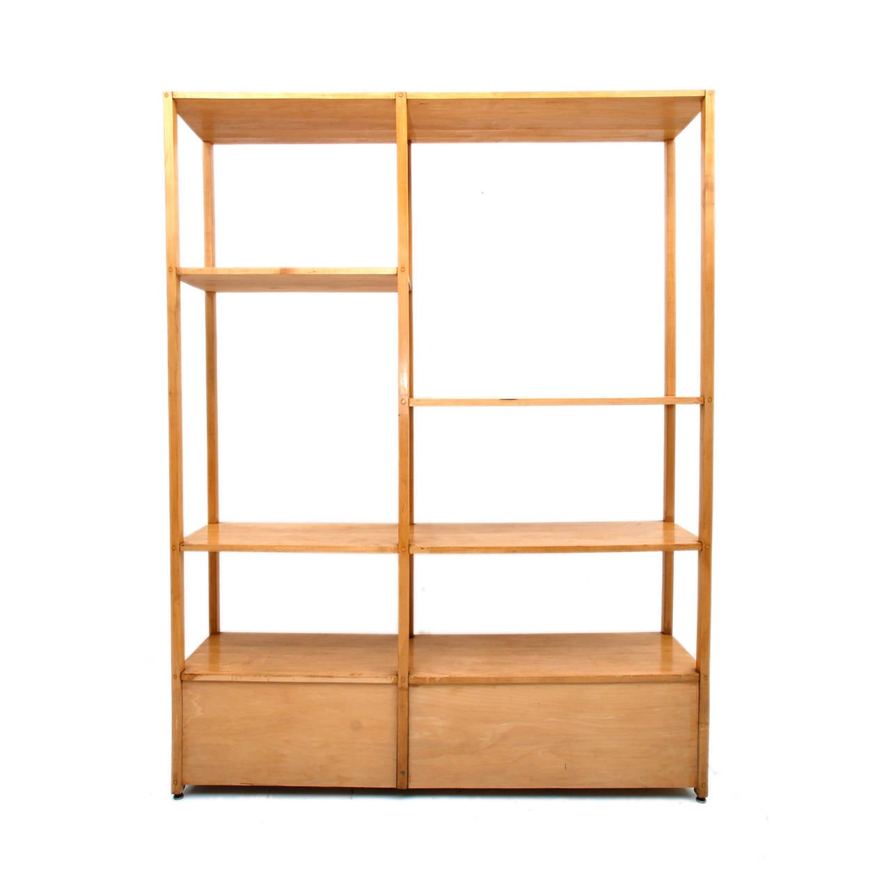 Paul mccobb shelving unit room divider planner group at for Room divider storage