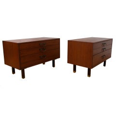 Harvey Probber Pair of Low Dressers