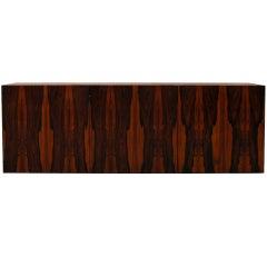 Brazilian Rosewood Hanging Cabinet