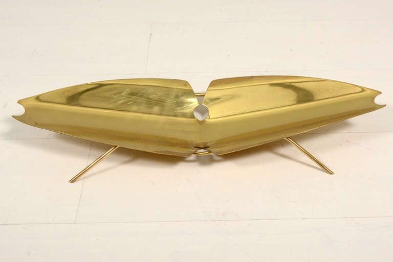 Ikora Brass Serving Plate 3