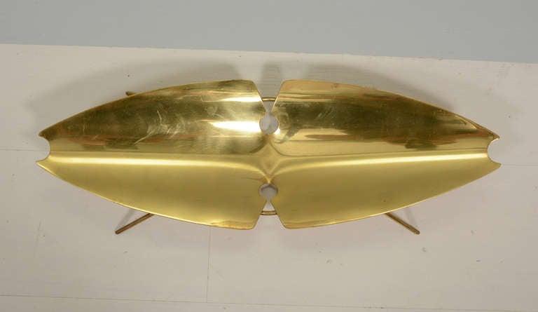 Ikora Brass Serving Plate 5