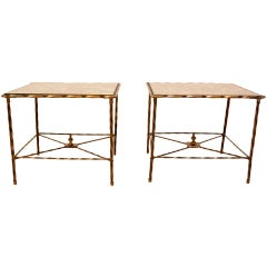 Pair of Side Tables By Arturo Pani