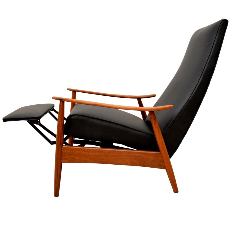 Milo baughman recliner at 1stdibs for Modern recliner chairs design