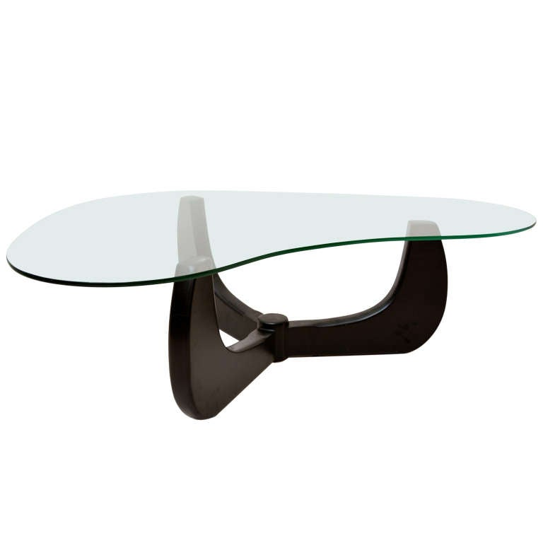 Coffee Table Mid Century Modern Noguchi Style At 1stdibs