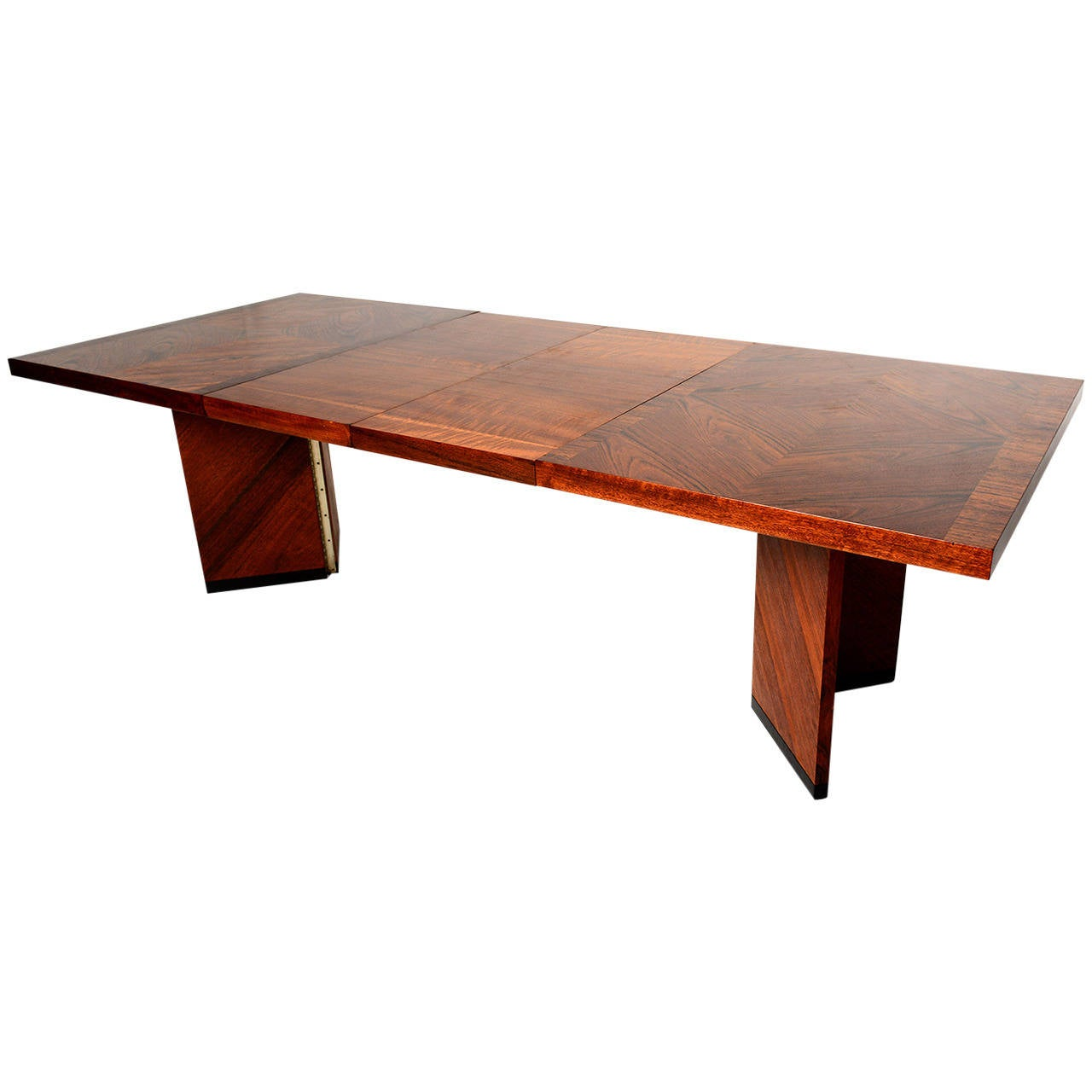 Lane Dining Table In Walnut At 1stdibs