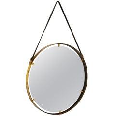 Brass Wall Hanging Mirror AMBIANIC