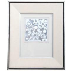 """Feliciano Bejar Embossed Silver in Paper, Original Art Signed 1986 """"El Camino"""""""