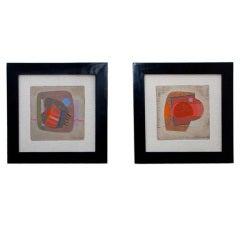 Pair of Paintings by José Luis Serrano