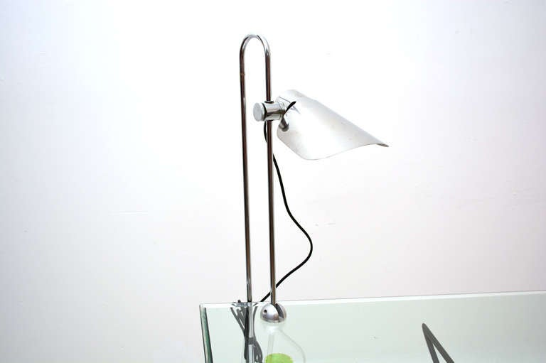 Mid-Century Modern Mid Century Modern Counterbalance Desk Lamp Attributed to Gae Aulenti For Sale