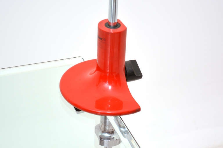 Mid Century Modern Joe Colombo Spider Desk Table Lamp In Excellent Condition For Sale In National City, CA