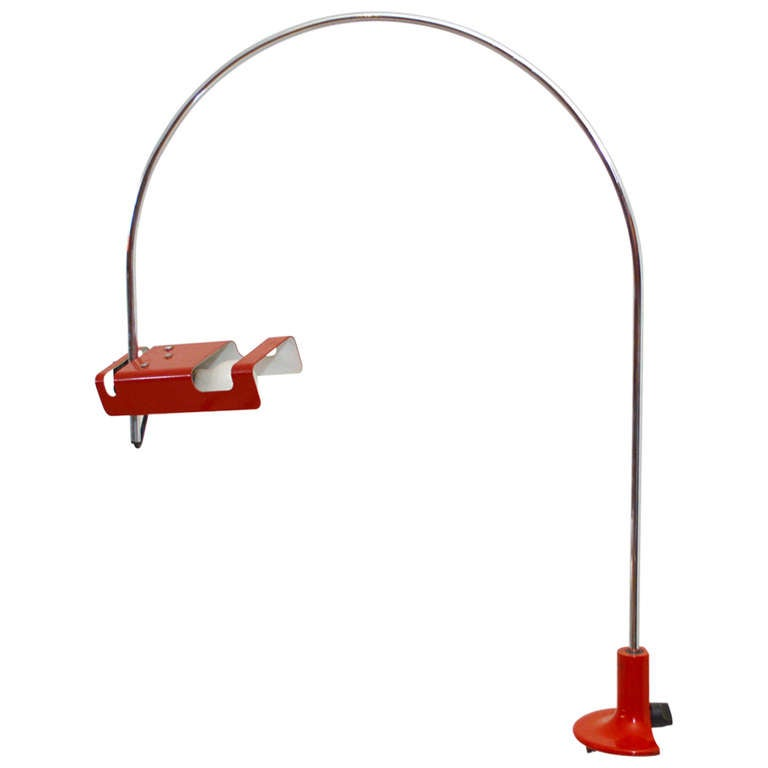 Mid Century Modern Joe Colombo Spider Desk Table Lamp