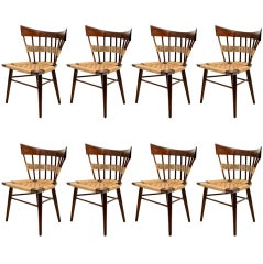 Edmund Spence Set of Eight Dining Chairs