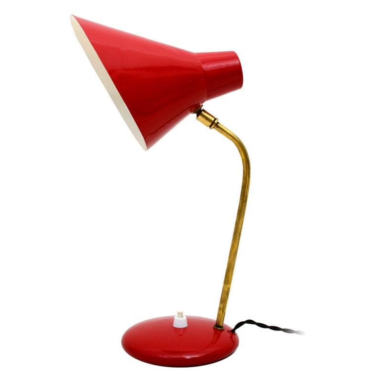 Italian Desk Lamp For Sale at 1stdibs