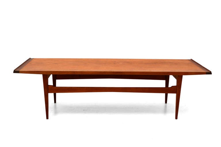Moreddi Teak Coffee Table At 1stdibs