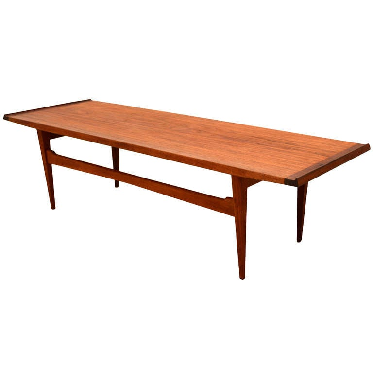 Teak Burger Coffee Table: Moreddi Teak Coffee Table At 1stdibs