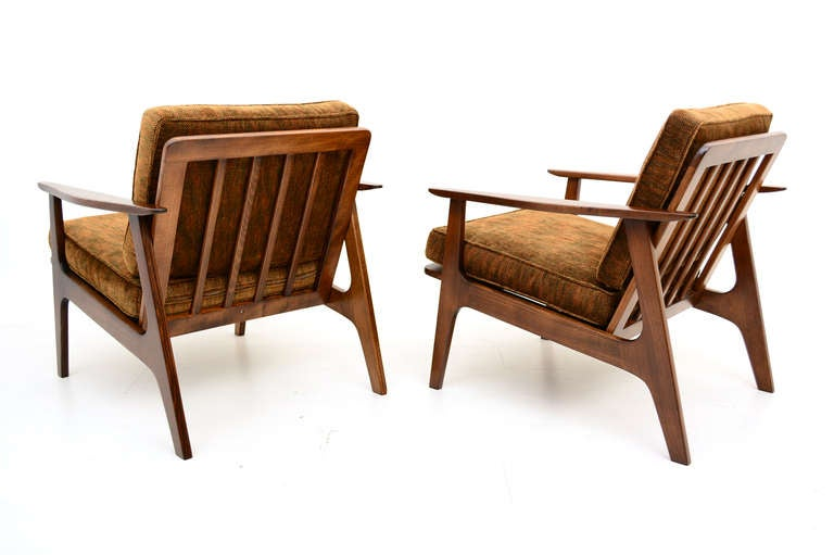 Mid Century Modern Japanese Lounge Chairs For Sale