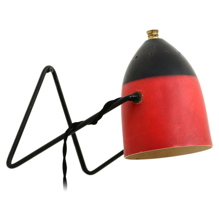 Wall Lamp For Desk : French Desk Wall Lamp at 1stdibs