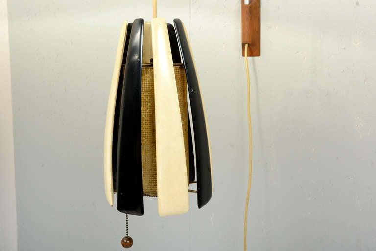 American Mid-Century Custom Modern Wall Sconce, After Kalmar For Sale