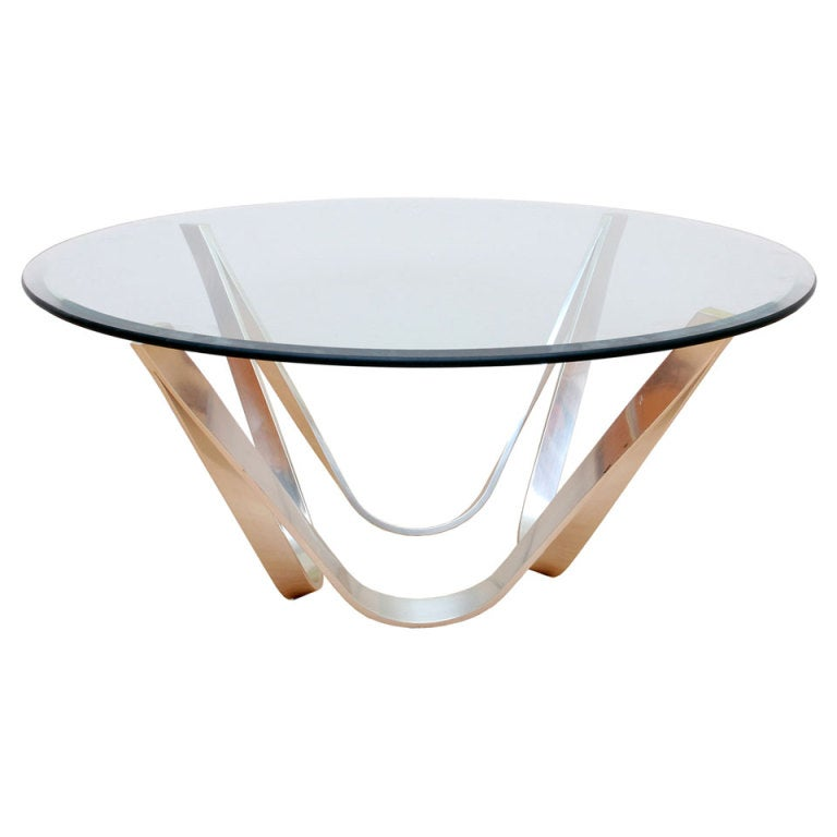 Sprunger Style Coffee Table For Sale At 1stdibs