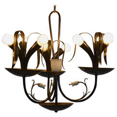 Italian Chandelier from the Gio Ponti Era