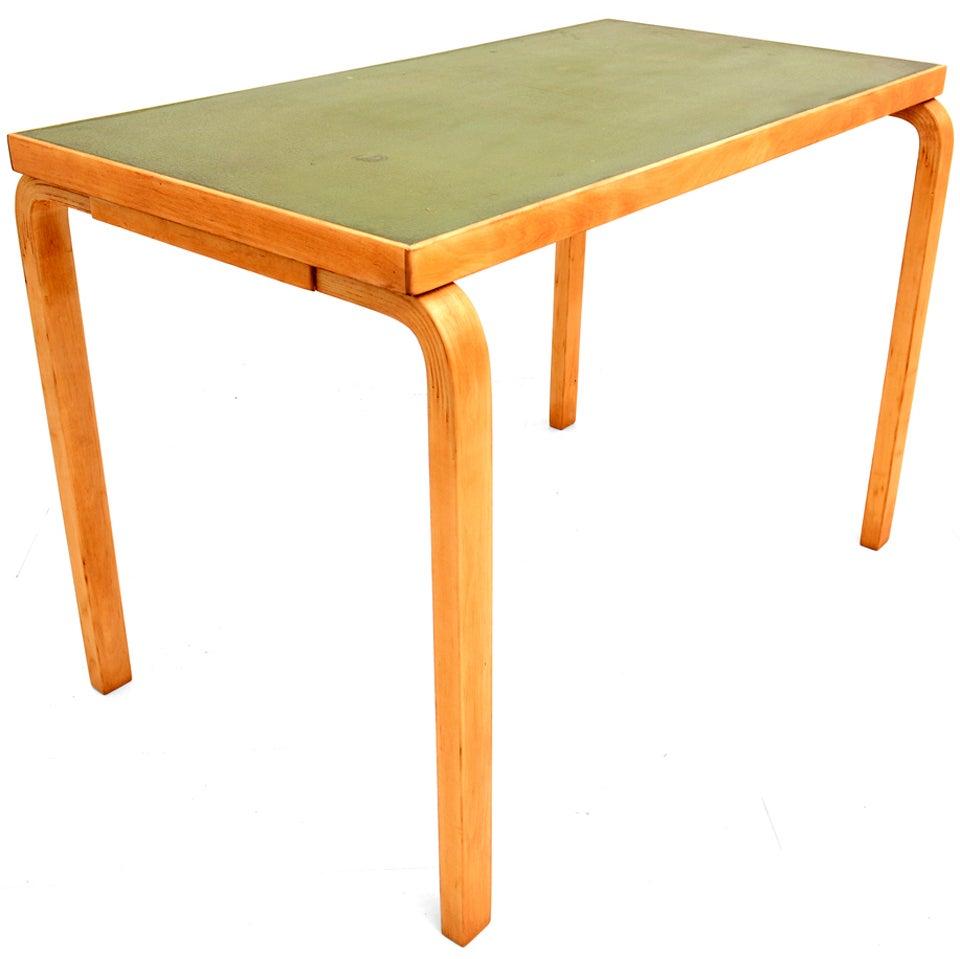 Alvar Aalto L Leg Table Artek At 1stdibs