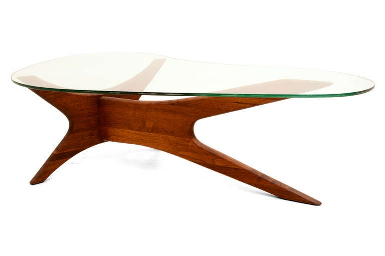 adrian pearsall coffee table and side table at 1stdibs