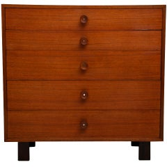 George Nelson Tall Dresser for Herman Miller
