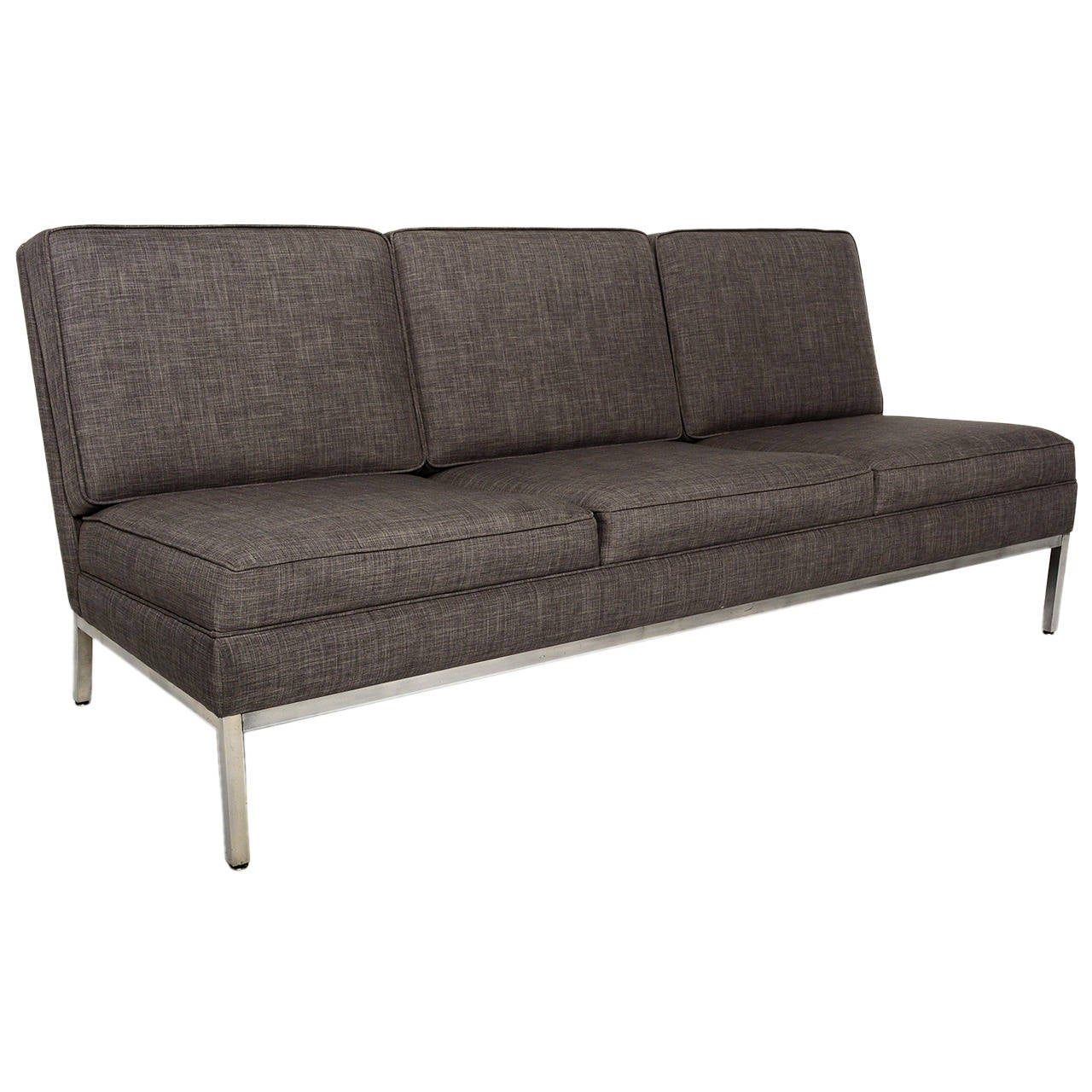 Mid Century Modern Steelcase Three-Seater Sofa