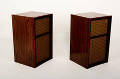 Vintage Wharfedale W60D Speakers, 1960s